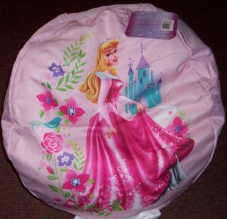 New Disney Princess Bean Bag Chair Bedroom Decor Pink