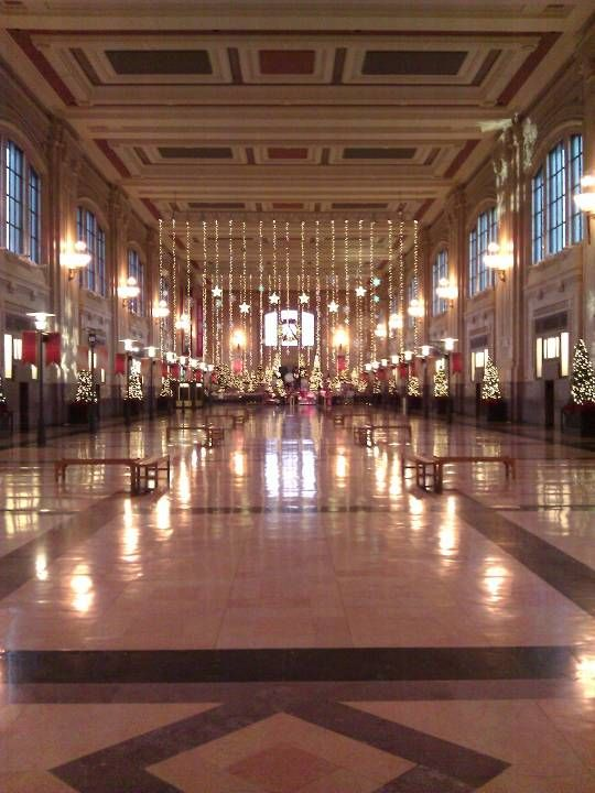 Union Station Is The Remodled Train Station In Kansas City It