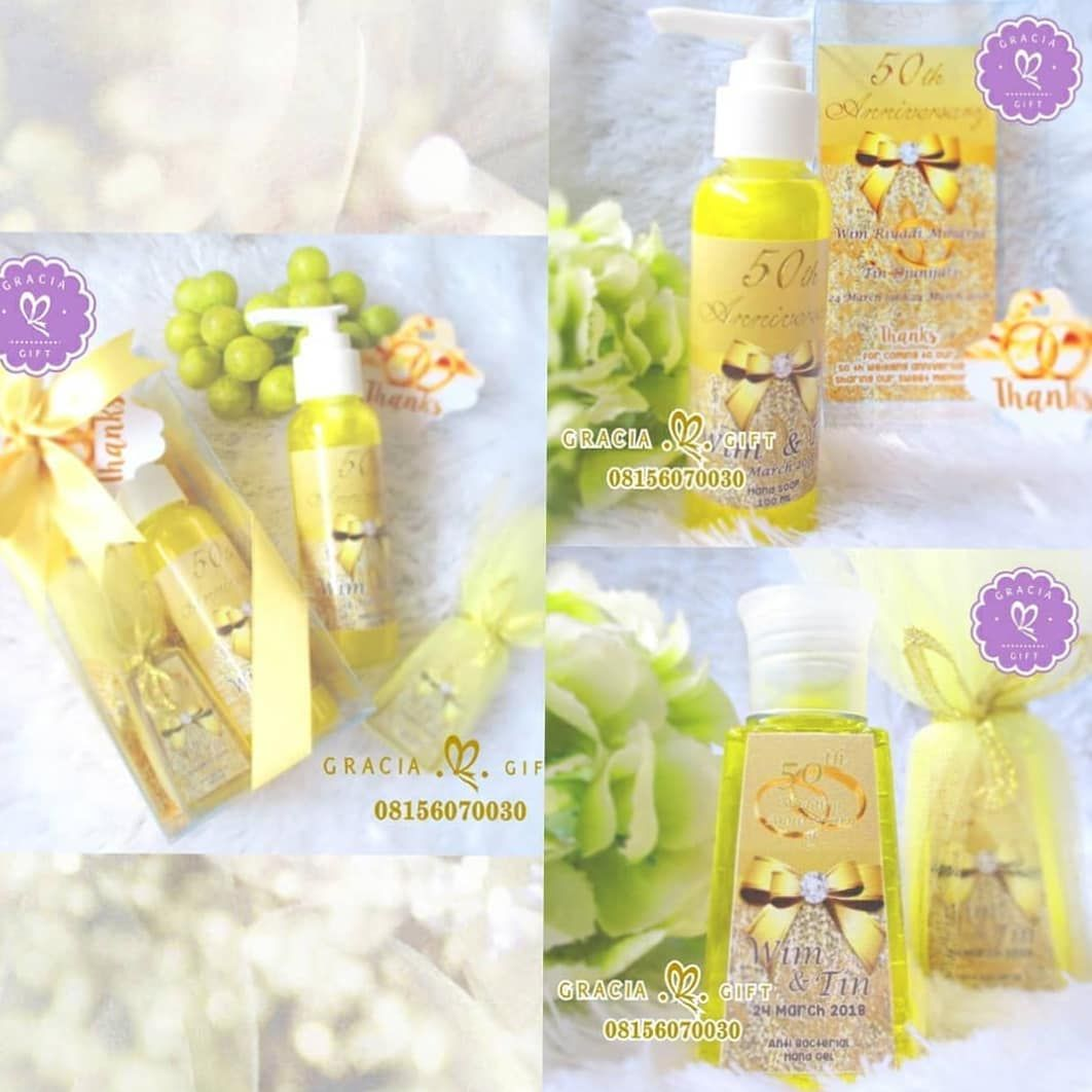 Gracia Gift Wedding Souvenir Di Instagram Exclusive Hand Soap And