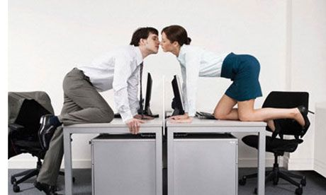 Signs of office romance