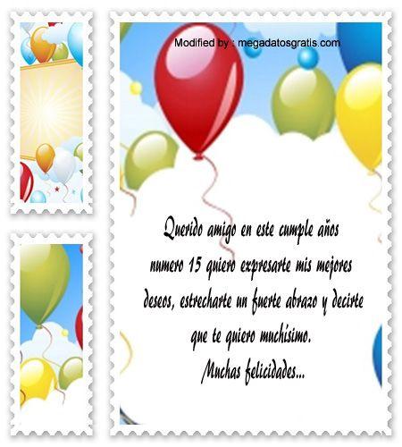 Saludo Cumpleaños Quinceañera