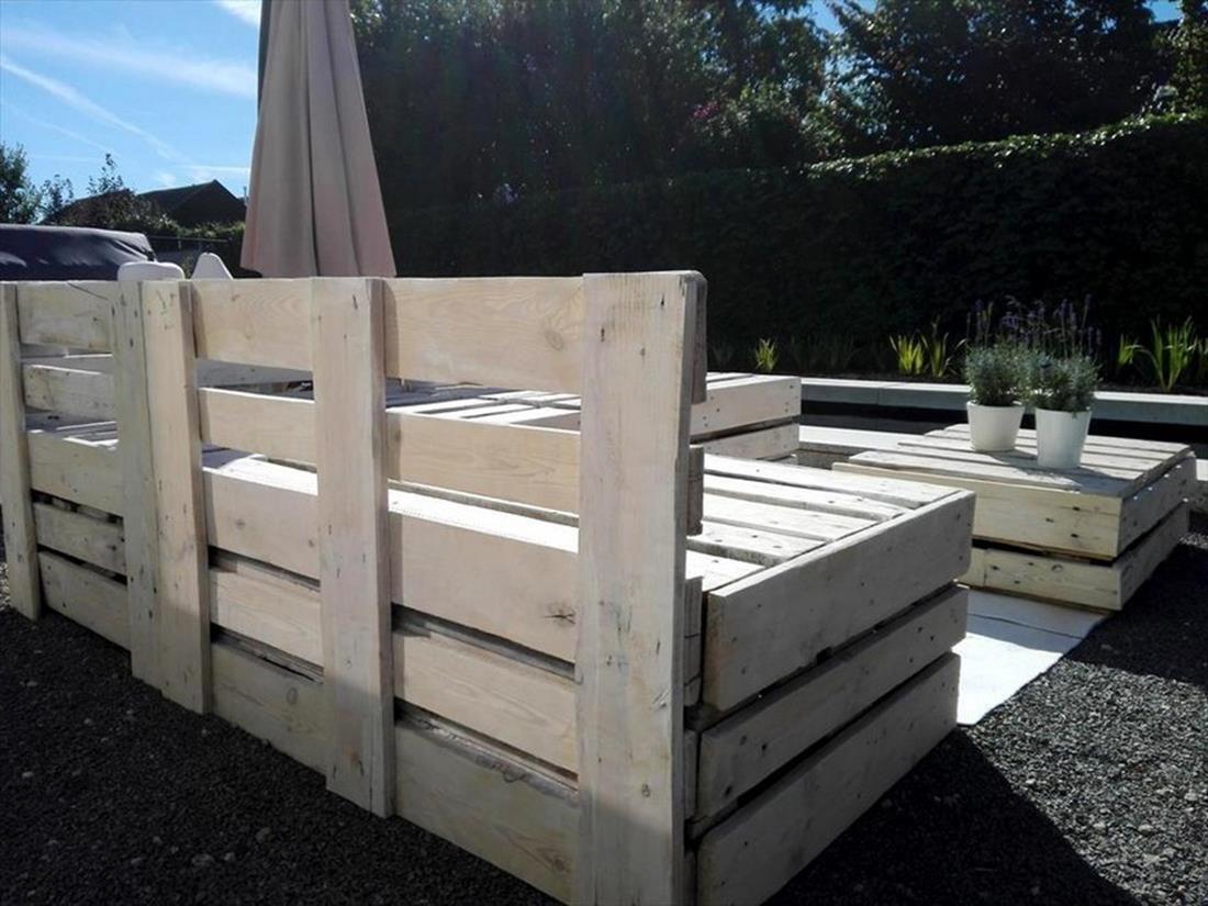 outdoor pallet furniture ideas. 40+ DIY Easy Recycled Outdoor Pallet Furniture Ideas #RecycledPallet