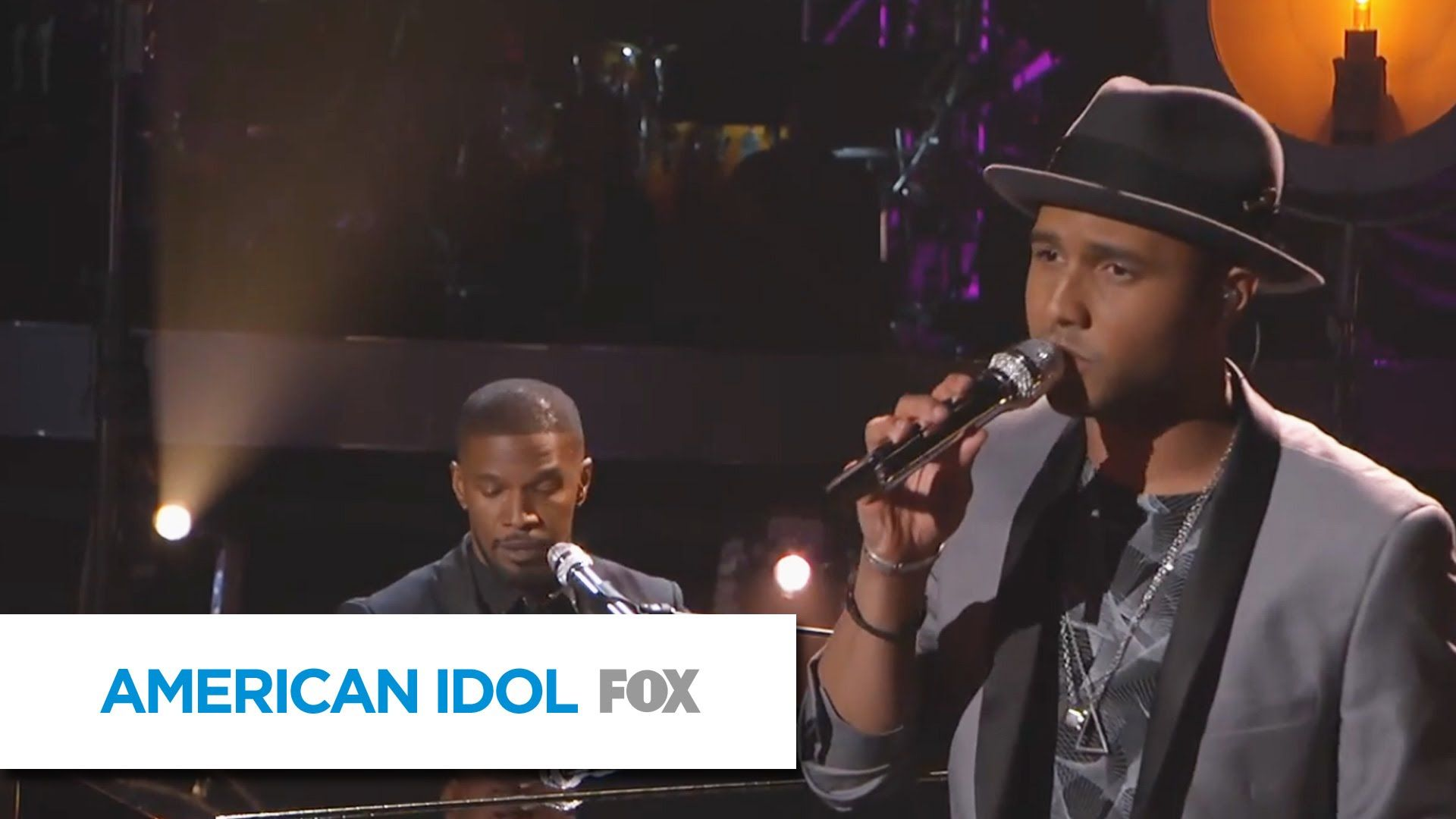 Rayvon Owen With Jamie Foxx In Love By Now American Idol Xiv American Idol American Youtube