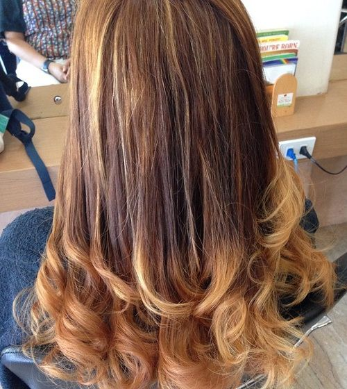 Long Hair With Perm Curls For The Ends Long Hair Perm Permed Hairstyles Loose Curls Long Hair