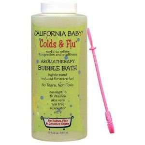 This Really Helps When You Re Congested I Used This When Addison Had Colds And Her Nose Would Start Running Imme Baby Bubble Bath Baby Bubble California Baby