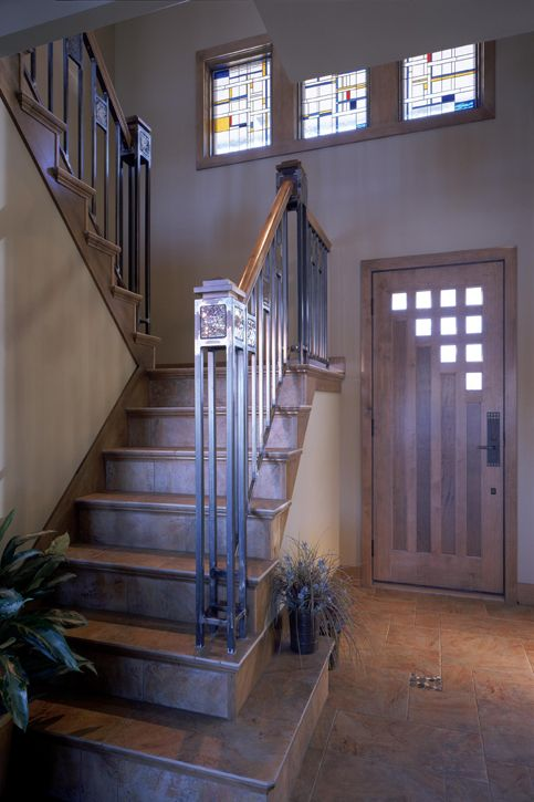 Best Entryway Foyer Frank Lloyd Wright Entry With Images 400 x 300