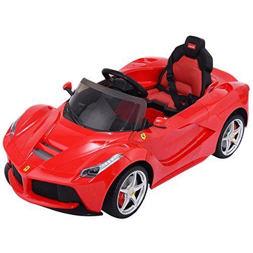 Goplus 24g La Ferrari Rot Ride On Kinder Elektrofahrzeug