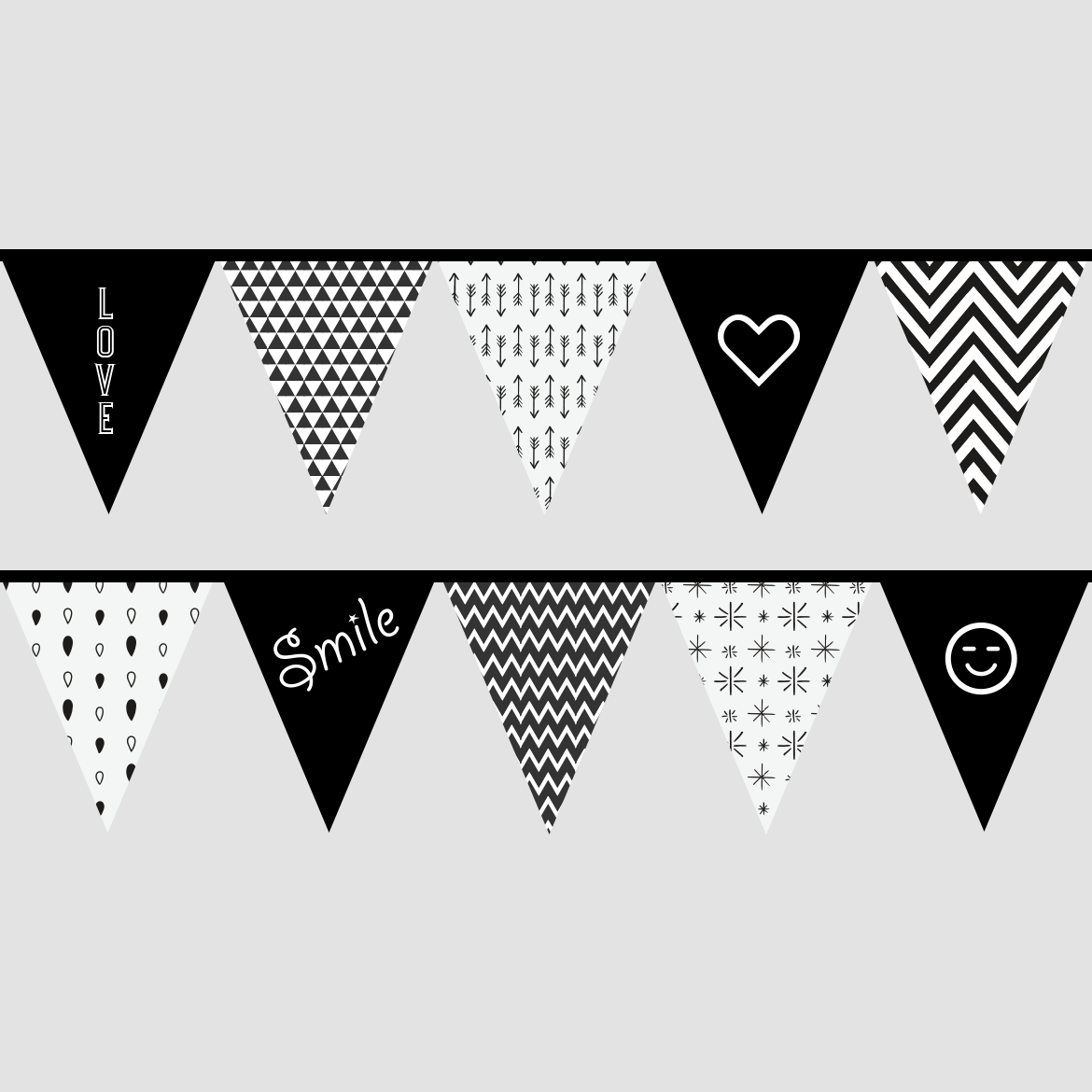 Free Bunting Flags Printable Bunting Flags Flag Printable Valentines Printables Free