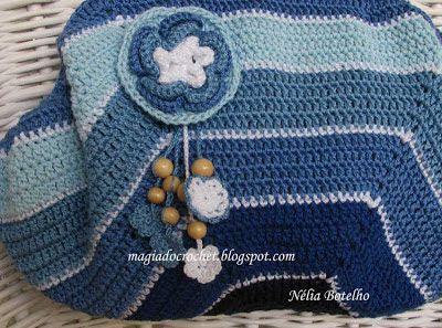 Magia do Crochet: Julho 2013