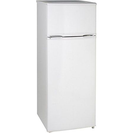 Avanti Model Ra7306wt 7 4 Cf Two Door Apartment Size Refrigerator White By Office Depot Apartment Size Refrigerator Apartment Refrigerator Refrigerator Fridge
