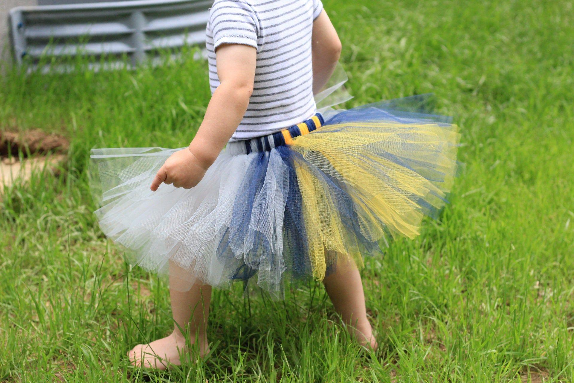 Multicolor tutu multicolor tutu girls tutu navy and