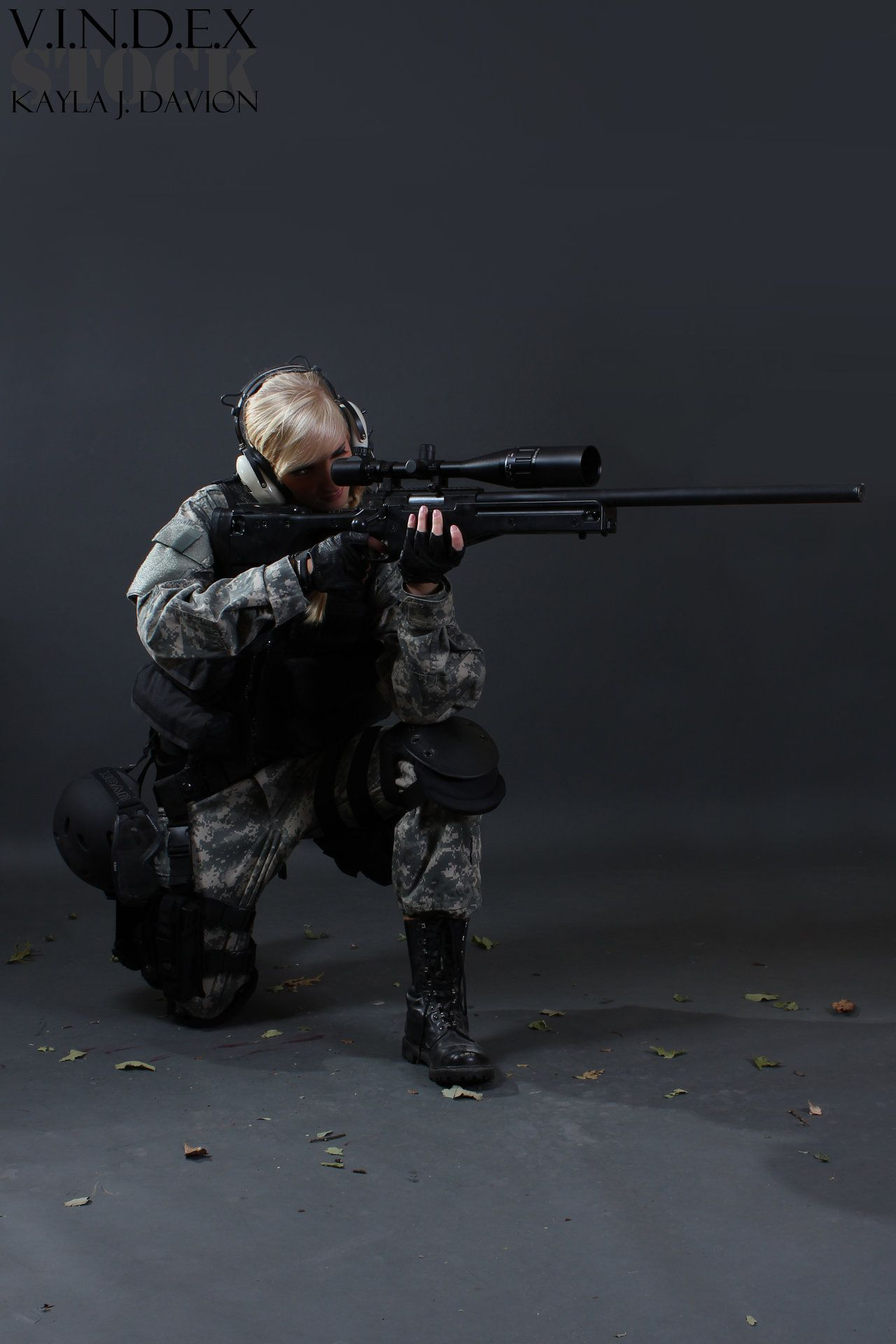 meet the sniper female