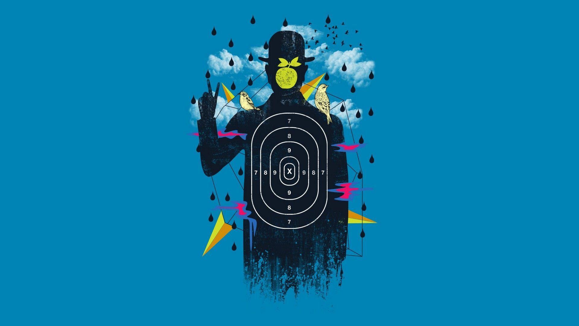 Shooting Target Target Wallpaper Wallpaper Peel And Stick Wallpaper