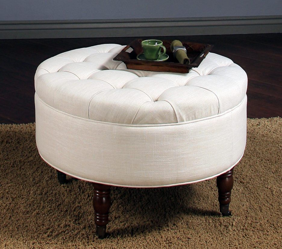 Ottoman Splendid Square Storage With Tray Extra Large Round Pouf Cube Tufted Coffee Table Box What Is An Tail Footstool Gray Red Leather White