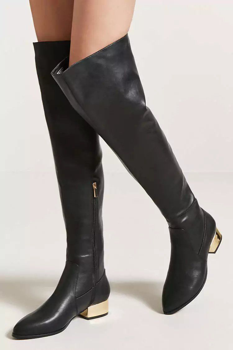 9e73f2e543c Product Name Faux Leather Over-the-Knee Boots