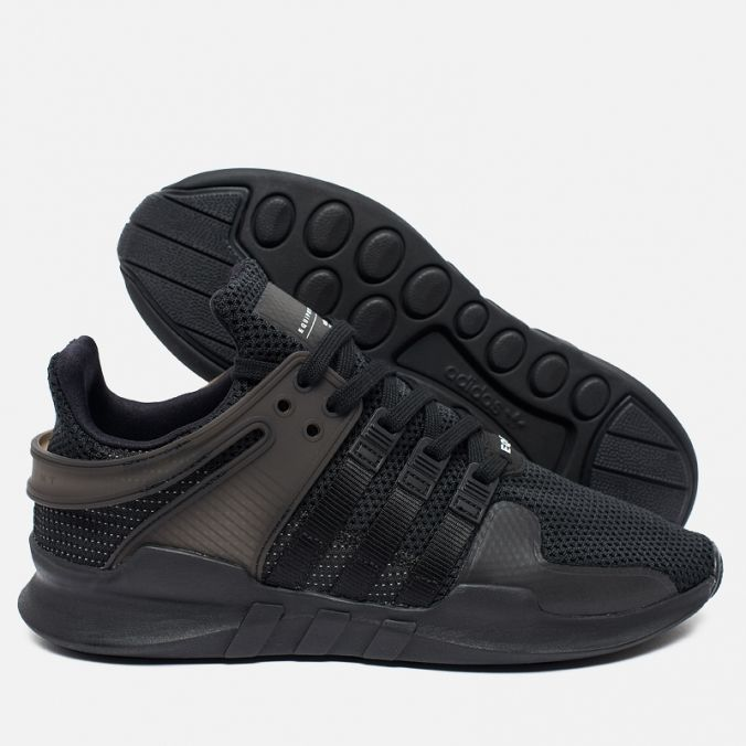 reputable site 41c68 0d1b8 Мужские кроссовки adidas Originals EQT Support ADV Black фото- 2
