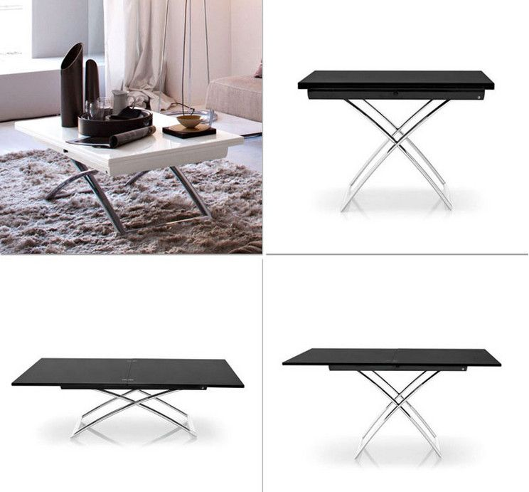 Outdoor Convertible Coffee Dining Table