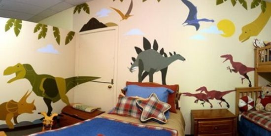Dinosaur Theme Bedrooms – How It Feels to Sleep As If Your Kids Are in  Jurassic - Dinosaur Theme Bedrooms – How It Feels To Sleep As If Your Kids