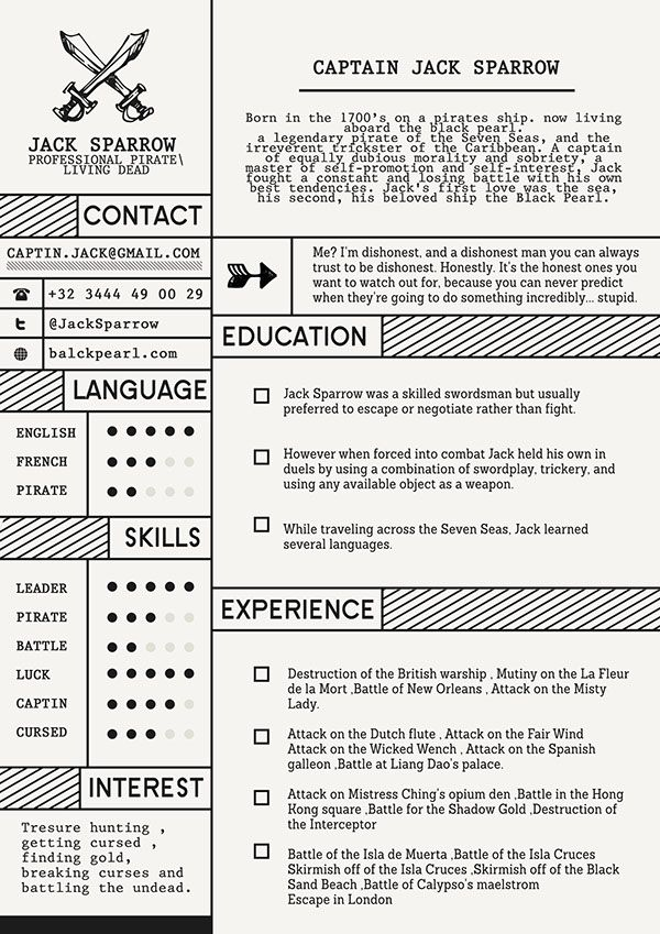 Old school, retro, vintage resume template - Check out 10 Free - free resume designs