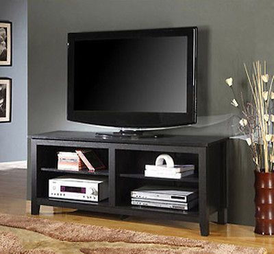 Wood lcd led tv stand entertainment center flat screen media wood lcd led tv stand entertainment center flat screen media console 60 sciox Image collections