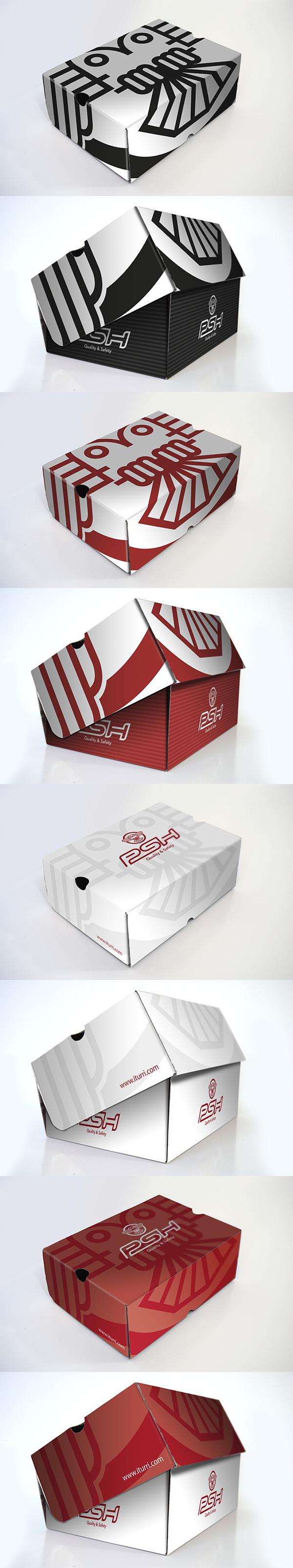 Propuestas de diseño de packaging para calzado PSH