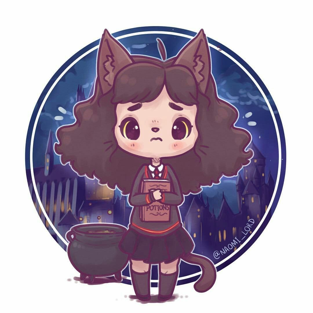 Hey, remember that one time Hermione turned into a cat