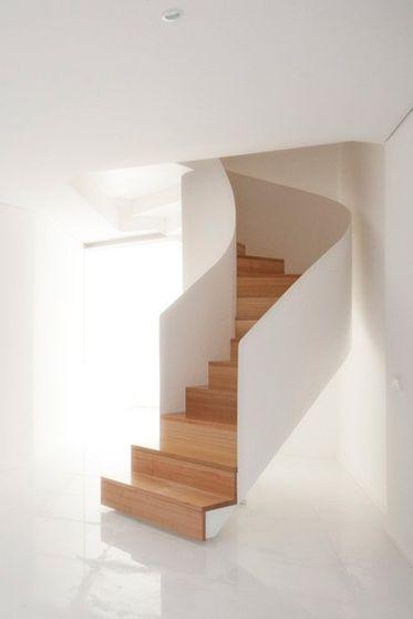 Caxinas House / AUZprojekt Escalera, Diseño escaleras y Arquitectura - diseo de escaleras interiores