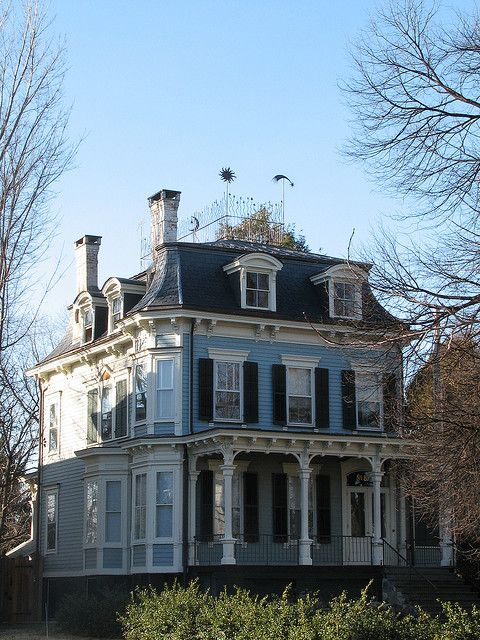 Victorian Houses With Mansard Roof Love Second Empire