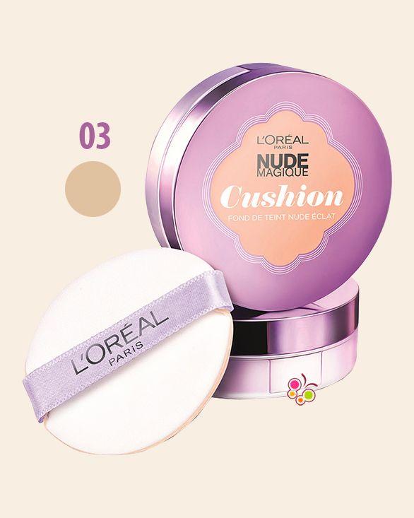 Loreal Paris Nude Magique Cushion Fondoten 03 Vanilla Hair Inspo