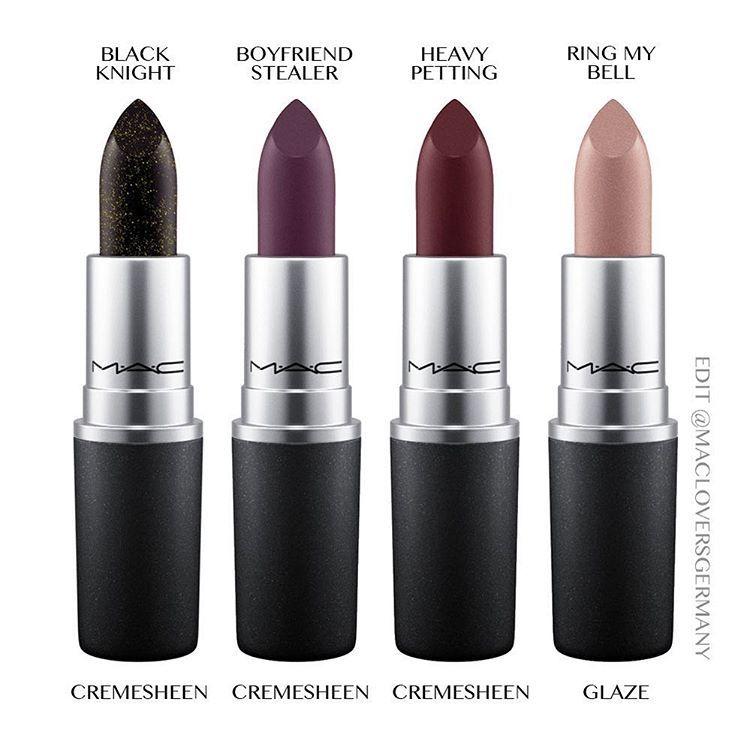 Mac Cremesheen lipstick Heavy Petting