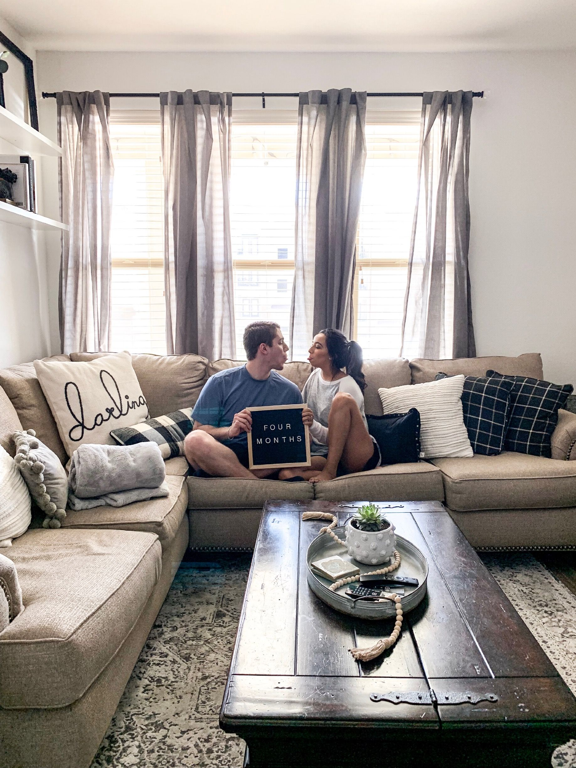 Caintostyle Monthly Marriage Post Apartment Decor Farm House Living Room Home Decor
