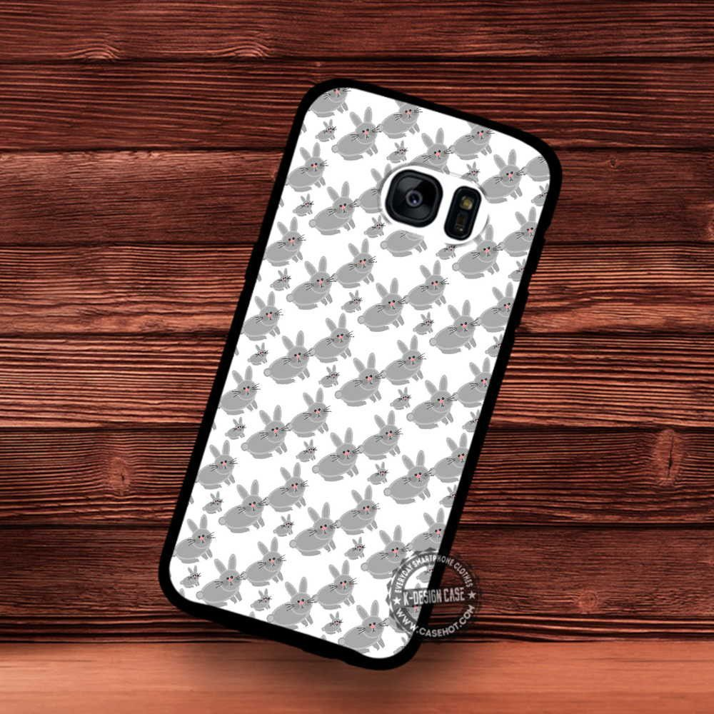 S note background image - Rabbit Pattern Background Samsung Galaxy S7 S6 S5 Note 7 Cases Covers
