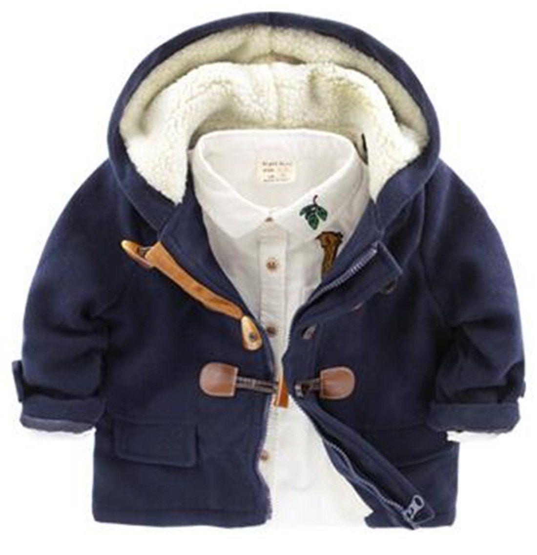 Staron Toddler Kids Winter Waistcoat Clothes 8T Baby Girl Faux Fur Coat Thick Warm Outwear