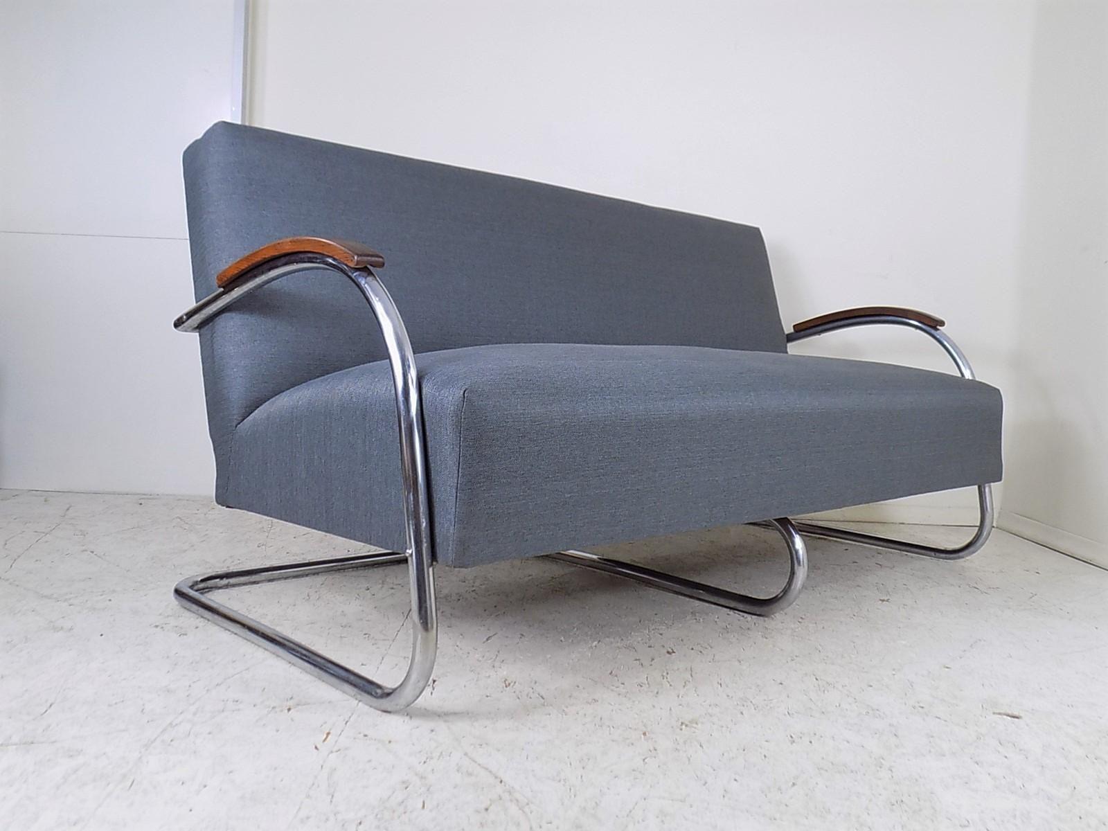 Czech Bauhaus Sofa from Mücke Melder, 1930s 3 Sofa