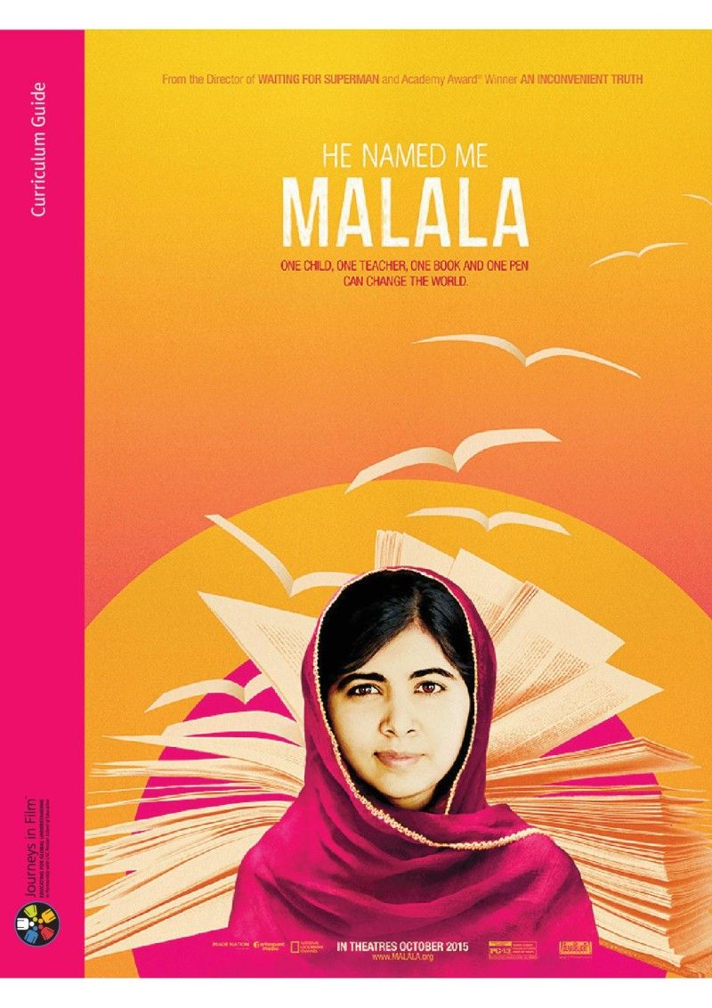 He Named Me Malala - Curriculum Guide Lesson plans for secondary ...