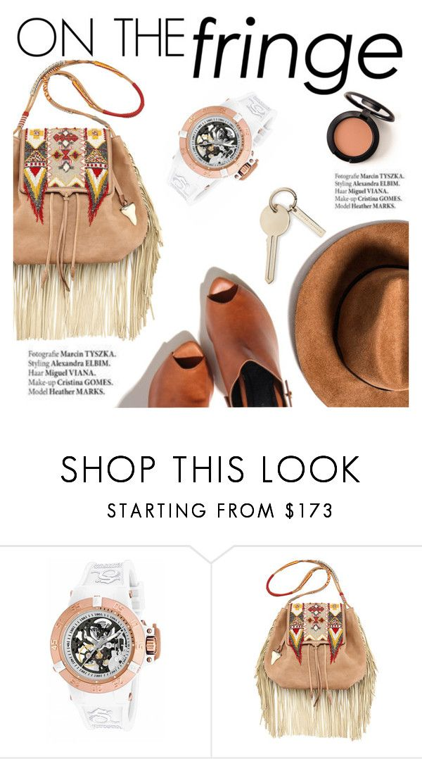 """On the fringe"" by punnky ❤ liked on Polyvore featuring Invicta, Etro and Haute Hippie"