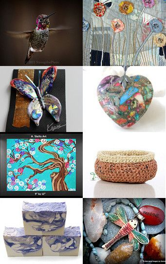 Some of My Favorites -- by PiecesofhomeMosaics.etsy.com