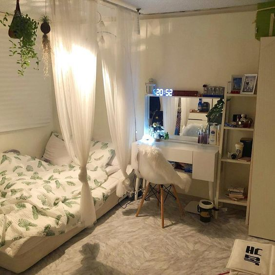 bedroom  uploaded by ɐıɯ on We Heart It