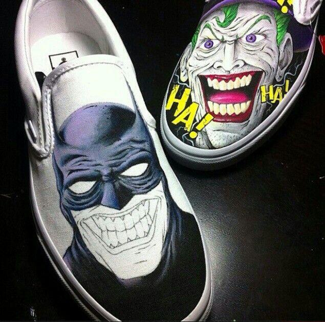 e33e97a548d8 Batman and Joker Vans