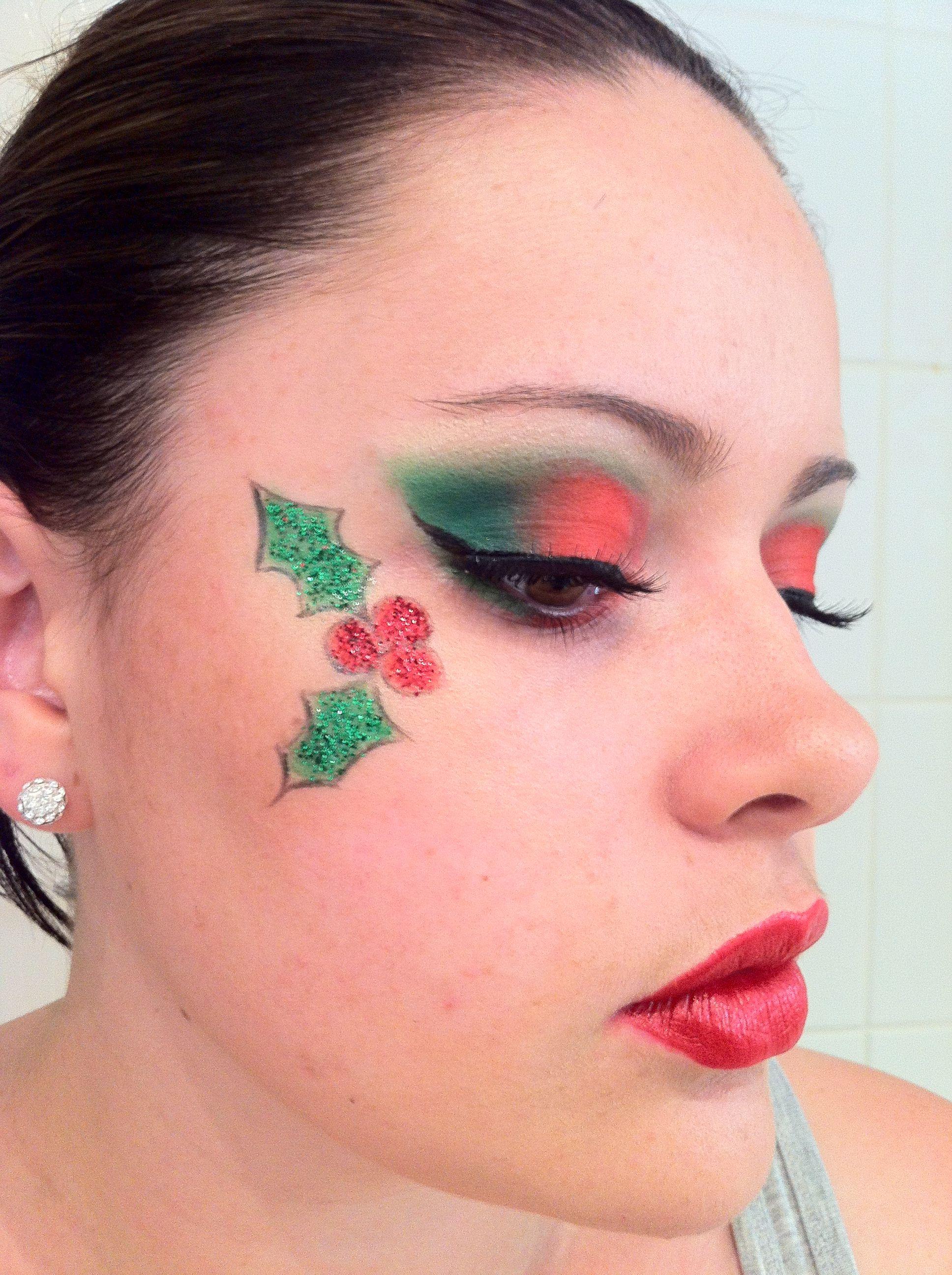 Christmas Makeup!!! Holiday party makeup, Christmas