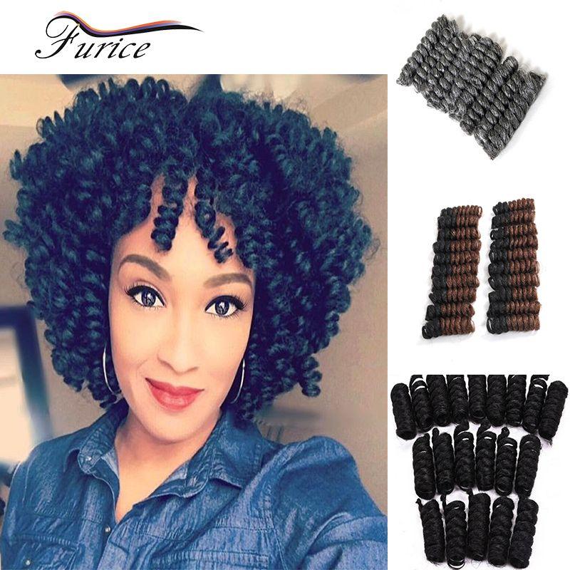 Braiding Hair Curly Bouncy Curl Crochet Pre Loop Crochet Braids
