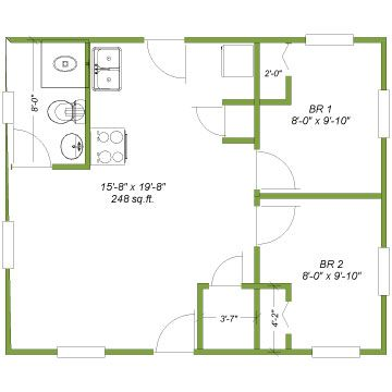 Luxury 20x20 House Floor Plans House Layout Plans Floor Plans Cabin Floor Plans