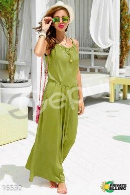 Платье макси с фото 1