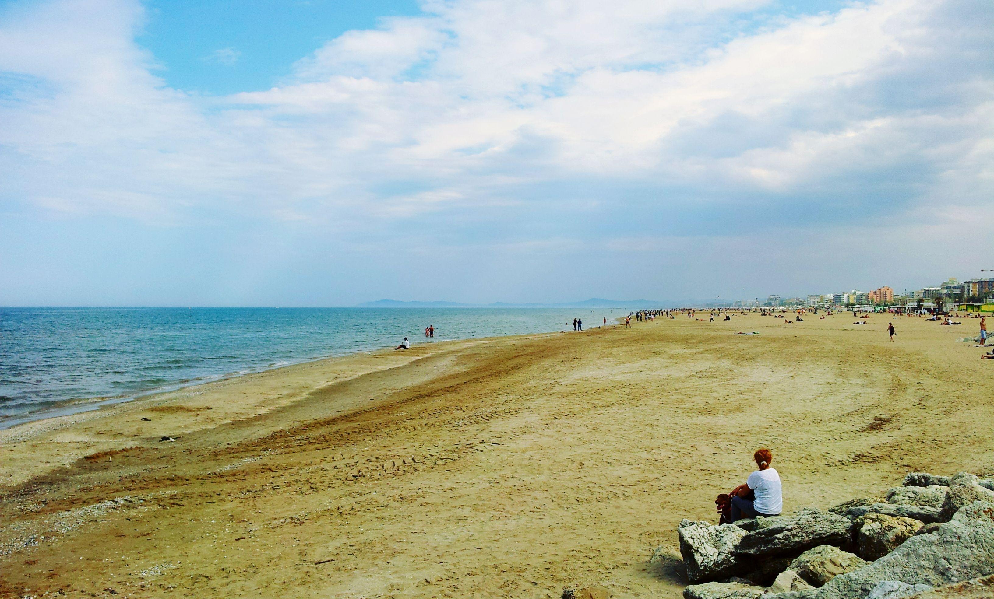 Rimini's beach