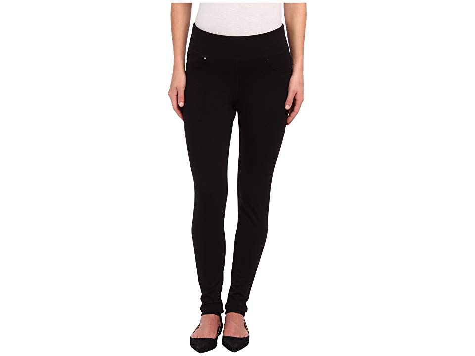 Jag Jeans Ricki PullOn Legging Double Knit Ponte Black Womens Casual Pants The legging youll want to wear as often as possible Pullon legging is fabricated from a doublek...