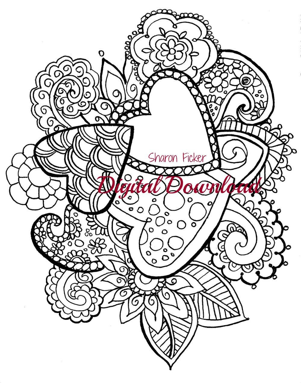 Printable Coloring Book Is Appropriate For Both Adults And Children Studies Have Shown That