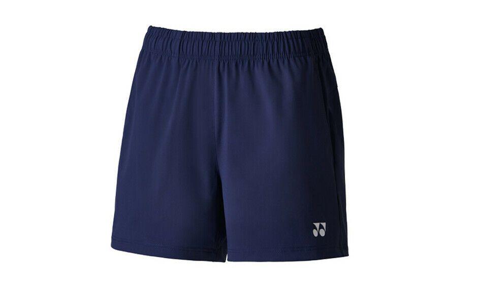 Yonex Women/'s Badminton Woven Pants Shorts Navy Clothing Apparel NWT 99PH002F