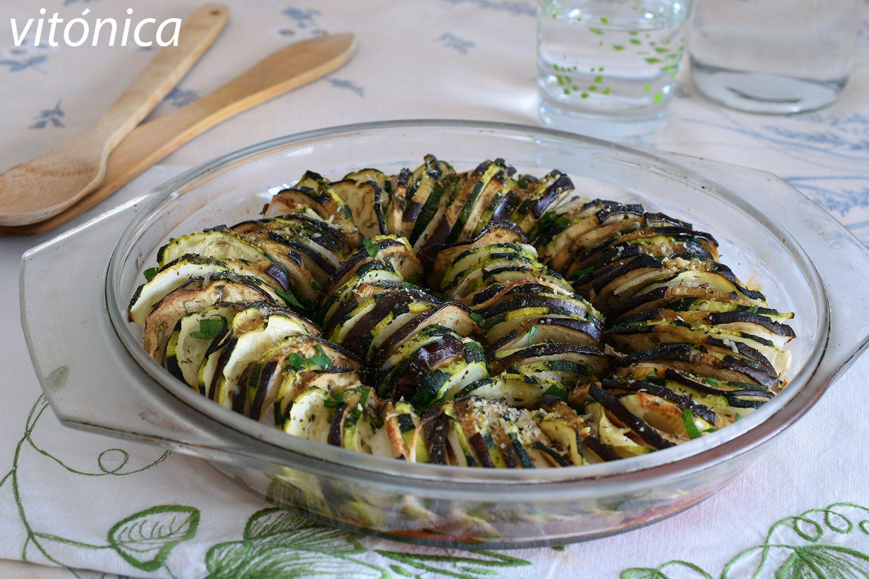 Verduras Al Horno Al Estilo Provenzal Receta Saludable Receta Verduras Al Horno Recetas Saludables Verduras