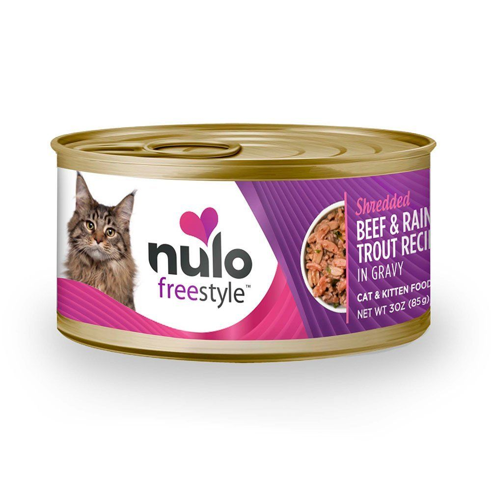 Nulo FreeStyle Shredded Canned Wet Cat Food Variety Bundle