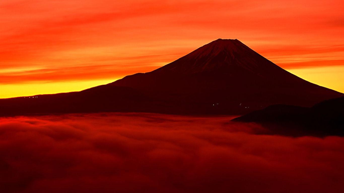 富士山 日本の壁紙 2 20 1366x768 富士山 美しい場所 富士山